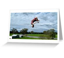 Flipping out Greeting Card