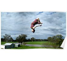 Flipping out Poster