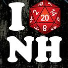 I D20 New Hampshire by Tee NERD