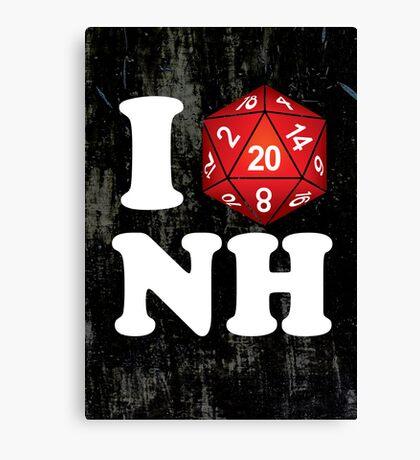 I D20 New Hampshire Canvas Print