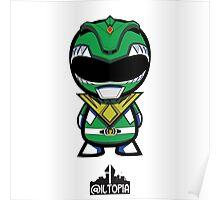 Green Power Ranger Poster