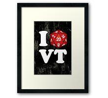 I D20 Vermont Framed Print