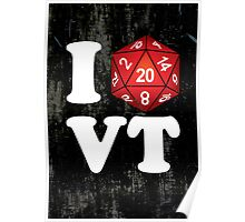 I D20 Vermont Poster