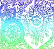Rainbow doodle by MZawesomechic