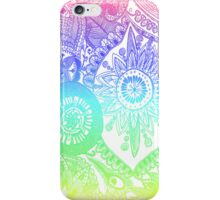 Rainbow doodle iPhone Case/Skin
