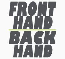 Key & Peele - Fronthand Backhand by avlachance