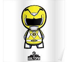 Yellow Power Ranger Poster