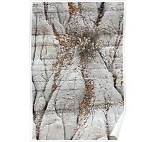 Theodore Roosevelt National Park Badlands Abstract Poster