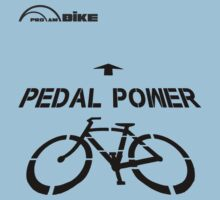 Cycling T Shirt - Pedal Power by ProAmBike