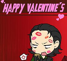 Loki - Happy Valentine's Day, But Not Really. by tinylittlebird