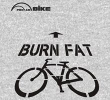 Cycling T Shirt - Burn Fat by ProAmBike