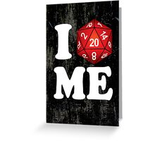 I D20 Maine Greeting Card