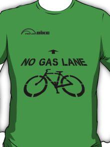 Cycling T Shirt - No Gas Lane T-Shirt