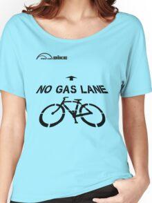 Cycling T Shirt - No Gas Lane Women's Relaxed Fit T-Shirt
