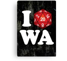 I D20 Washington Canvas Print