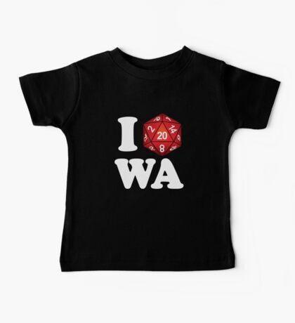 I D20 Washington Baby Tee