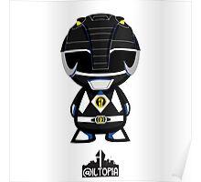 Black Power Ranger Poster