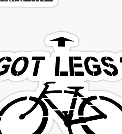 Cycling T Shirt - Got Legs? Sticker