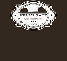 Hell's Gate II - White Logo Unisex T-Shirt