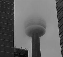 A foggy day in Toronto by MarianBendeth