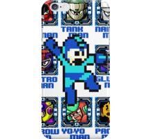 Mega Man NES Nintendo 8-Bit  iPhone Case/Skin