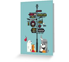 Nowhere home Greeting Card