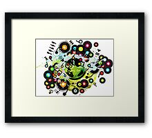 Gaia_Memories Framed Print