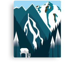 White Elephant Gift Canvas Print