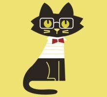 Fritz the preppy cat Kids Clothes