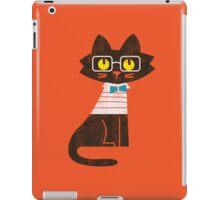Fritz the preppy cat iPad Case/Skin