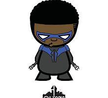 Nightwing by stuckonaneyelnd