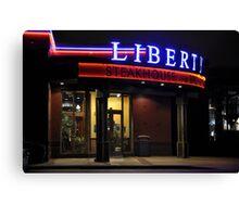 Liberty steakhouse Canvas Print