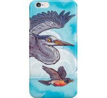 May birds arrive iPhone Case/Skin
