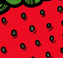 Strawberry Sticker Sticker