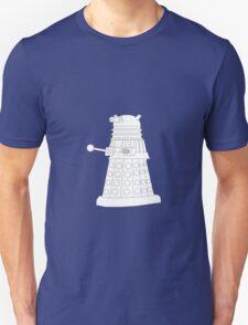 Exterminate White Unisex T-Shirt