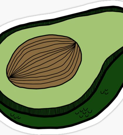 Avocado Sticker Sticker