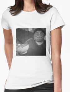 Bleu Cheese Womens Fitted T-Shirt