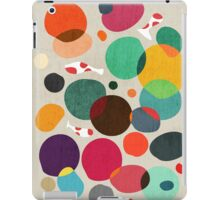 Lotus in koi pond iPad Case/Skin