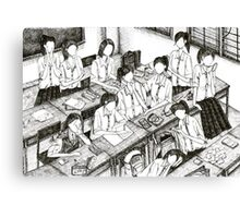 Beloved classmates Canvas Print