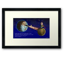 """""""The Moon"""" by D.Dubois & E.Tchijakoff Framed Print"""
