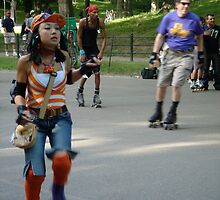 Roller Girl by Pamnani  Photography