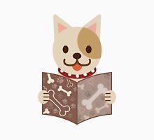 Cute dog with a catalog of bone Unisex T-Shirt