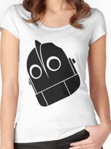 Iron Giant Vector Women's Fitted Scoop T-Shirt
