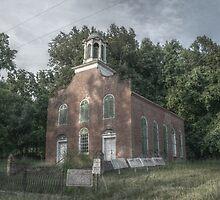 Rodney Church in Rodney, Mississippi by ronburt