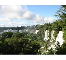 Iguazu falling Photographic Print