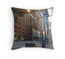 Seattle Street Throw Pillow
