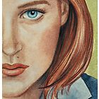 Dana Scully by Sarah  Mac