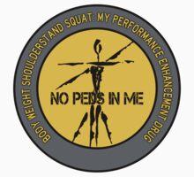 Body Weight Shoulderstand Squat - My Performance Enhancement Drug One Piece - Short Sleeve