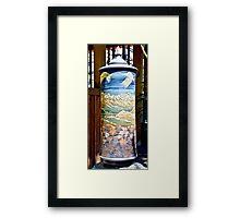 Prayer Wheel Framed Print