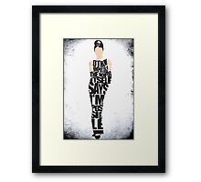 Audrey Hepburn - The Breakfast at Tiffany's Framed Print